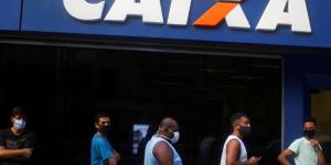 fila da caixa - renda Brasil