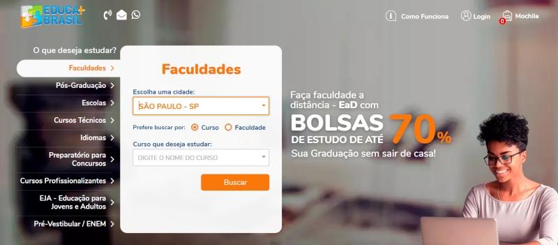 Inscrição Educa Mais Brasil