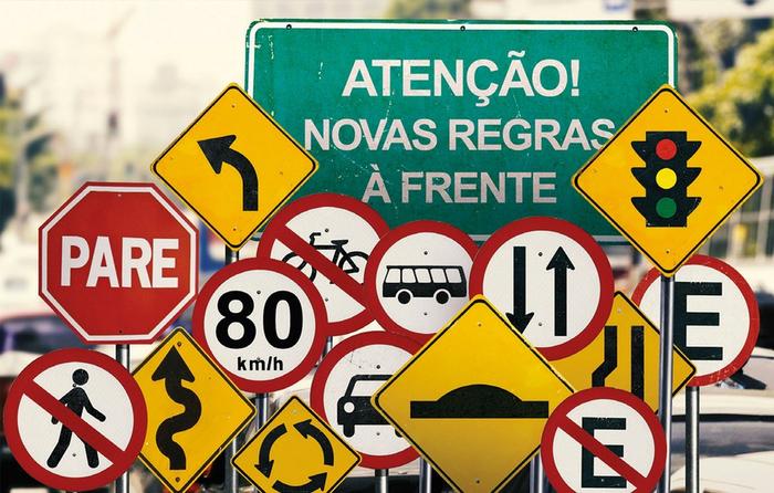 novas leis de trânsito Brasil