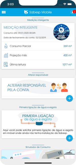 Como usar aplicativo Sabesp