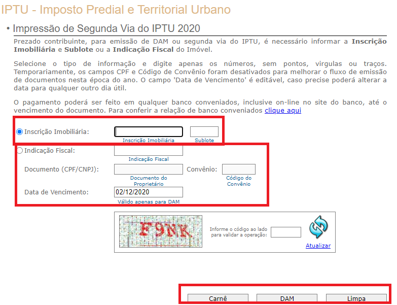 IPTU 2021 Curitiba: Como tirar minha segunda via?