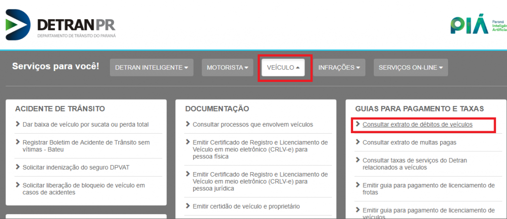 Como consultar se o veículo tem multas?