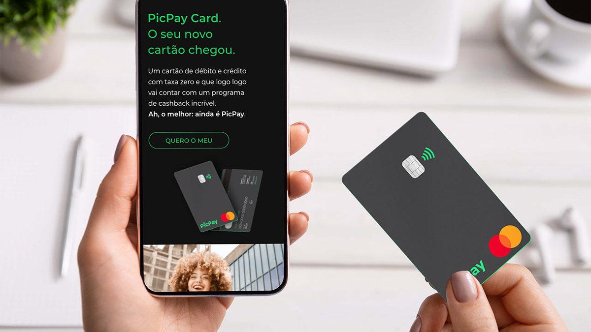 cartão de crédito e app PicPay